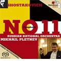 "SHOSTAKOVICH:SYMPHONY NO.11 OP.103""THE YEAR 1905"" :MIKHAIL PLETNEV(cond)/RUSSIAN NATIONAL ORCHESTRA"