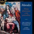 Morales: Missa Queramus cum Pastoribus -Andreas Christi Famulus, Sancta Maria Succurre Miseris; J.Mouton: Queramus cum Pastoribus, etc (11/24-27/1992) / James O'Donnell(cond), Westminster Cathedral Choir