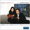 Zemlinsky:Serenade/Schubert:Fantasie D.934 Op.159/Brahms:Violin Sonata No.3 Op.108 (11/26-29/2006):Mirijam Contzen(vn)/Herbert Schuch(p)