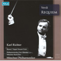 Verdi : Requiem (2/28/1969) / Karl Richter(cond), Munich PO, Munich Bach Choir, Ingrid Bjoner(S), Herta Toepper(Ms), etc