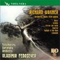 WAGNER:ORCHESTRAL MUSIC FROM OPERAS:OVERTURE TO THE OPERA RIENZI/FLIGHT OF THE VALKIRIES -VALKIRIE/INTRODUCTION & THE DEATH OF ISOLDE -TRISTAN & ISOLDE/ETC:VLADIMIR FEDOSEYEV(cond)/TCHAIKOVSKY SYMPHONY ORCHESTRA