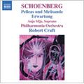 Schoenberg: Pelleas und Melisande Op.5, Erwartung Op.17 (1999-2000) / Robert Craft(cond), Philharmonia Orchestra, Anja Silja(S)