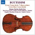 Bottesini Collection Vol.1 - Bottestini: Double Bass Concerto No.1 in F sharp minor, Gran Duo Concertante / Thomas Martin(cb), Jose-Luis Garcia(vn), Andrew Litton(cond), English Chamber Orchestra, etc