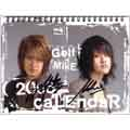 Golf & Mike 2008 卓上カレンダー 輸入版 サイン入り