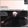 Verdi: Messa da Requiem / Arturo Toscanini, NBC Symphony Orchestra, Zinka Milanov, etc