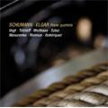 Schumann: Piano Quintet Op.44; Elgar: Piano Quintet Op.84 - Spannungen Festival 2007 / Lars Vogt(p), Christian Tetzlaff(vn), Anthe Weithaas(vn), Tatjana Masurenko(va), Claudio Bohorquez(vc), Gustav Rivinius(vc)