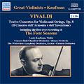 Vivaldi:Twelve Concerto For Violin And Strings:The Four Seasons Op.8 Nos.1-4/etc:Louis Kaufman