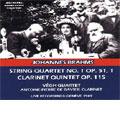 Brahms: String Quartet No.1, Op.51/1; Clarinet Quintet, Op.115