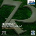 ベートーヴェン: 交響曲第2番 (9/27-28/2006), 第7番 (6/29-30/2007)  / ウラディーミル・アシュケナージ指揮, NHK交響楽団