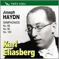 Haydn: Symphony No.88, No.95, No.103 / Karl Eliasberg, Moscow Philharmonic Orchestra, USSR State Symphony Orchestra