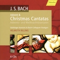 J.S.Bach: The Complete Christmas Cantatas (Advent & Christmas Cantatas) / Helmuth Rilling, Bach Collegium Stuttgart, etc