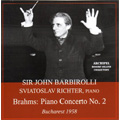 Brahms: Piano Concerto No.2 Op.83; Debussy: La Mer (1958) / Sviatoslav Richter(p), John Barbirolli(cond), Bucharest PO