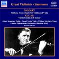 Mozart: Sinfonia Concertante for Violin & Viola; Elgar: Violin Sonata in E minor