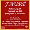 Faure: Ballade, Les 9 Preludes / Eric Heidsieck(p)