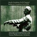 "Haydn: Symphony No.94 Hob.I-94 ""The Surprise"" (1/11-12,17/1951); Beethoven: Symphony No.4 Op.60 (1/25,30/1950)  / Wilhelm Furtwangler(cond), VPO"