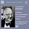 Pizzini Conducts Pizzini: Al Piemonte, Il poema delle Dolomiti, Grotte di Postumia, Strapaese (1955-1956) / Carlo Alberto Pizzini(cond), Munich Philharmonic Orchestra