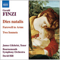 Finzi: Dies natalis, Prelude in F minor Op.25, The Fall of the Leaf Op.20 / David Hill(cond), Bournemouth Symphony Orchestra, etc