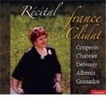 France Clidat -Recital :F.Couperin/E.Chabrier/Debussy/Albeniz/Granados (12/21, 24/2005)