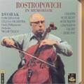 Rostropovich in Memoriam -Dvorak/Chopin/Schumann/Schubert/etc (1950-52):Mstislav Rostropovich(vc)/Vaclav Talich(cond)/Czech PO