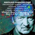 Schubert: Masses No.5 D.678, No.6 D.950 / Nikolaus Harnoncourt(cond), Chamber Orchestra of Europe, Luba Orgonasova(S), Birgit Remmert(A), etc