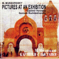 Mussorgsky: Pictures at an Exhibition; Piano Version (by Horowitz) (1951) & Orchestral Version (by Stokowski) (1983) / Vladimir Horowitz(p), Gennady Rozhdestvensky(cond), USSR State Symphony Orchestra