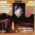 Brahms:Piano Sonata No.3/Piano Concerto No.2:E.Fischer