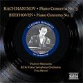 フリッツ・ライナー/Beethoven:Piano Concerto No.5/Rachmaninov:Piano Concerto No.3  [8110787]