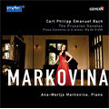 C.P.E.Bach: Prussian Sonatas Wq.48 (2/2008), Piano Concerto Wq.26 (10/2007) / Ana-Marija Markovina(p), Federico Longo(cond), Kammerphilharmonie Berlin-Brandenburg