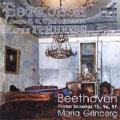 "BEETHOVEN:32 PIANO SONATAS VOL.5:NO.15""PASTORALE""OP.28/NO.16 OP.31-1/NO.17""TEMPEST""OP.31-2:MARIA GRINBERG(p)"
