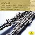 モーツァルト・ベスト1500: オーボエ協奏曲 K.314/クラリネット協奏曲 K.622/ファゴット協奏曲 K.191
