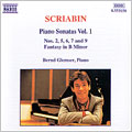 Scriabin: Piano Sonatas Vol 1 / Glemser