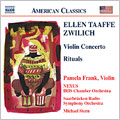 Zwilich: Concert for Violin & Orchestra, Rituals for 5 Percussions & Orchestra/ Pamela Frank(vn), Michael Stern(cond), German Radio Philharmonic Orchestra, etc