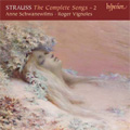 R.Strauss:The Complete Songs Vol.2:Die Nacht op.10-3/Geduld op.10-5/etc:Anne Schwanewilms(S)/Roger Vignoles(p)