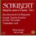 Schubert: Divertissement a la Hongroise / Pietro Galli, Olivia Garnier