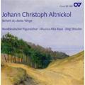 J.C.Altnickol : Befiehl du Deine Wege, Mass, Sanctus, etc (5/2004) / Jorg Straube(cond), Musica Alta Ripa, North German Figuralchor
