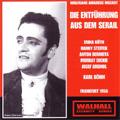 MOZART:DIE ENTFUEHRUNG AUS DEM SERAIL (6/1956):KARL BOHM(cond)/HESSEN RADIO SYMPHONY ORCHESTRA & CHORUS/ETC