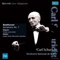 Beethoven: Symphony No.7; Mahler: Lieder Eines Fahrenden Gesellen; Wagner: Liebestod / Carl Schuricht, Orchestre National de France, Dietrich Fischer-Dieskau