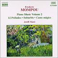 Mompou: Piano Music Vol 2
