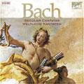 J.S.BACH:SECULAR CANTATAS/WELTLICHE KANTATEN:PETER SCHREIER(cond)/BERLIN CHAMBER ORCHESTRA/ETC