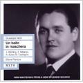 Verdi :Un Ballo in Maschera (12/14/1940) / Ettore Panizza(cond), Metropolitan Opera Orchestra & Chorus, Jussi Bjorling(T), etc