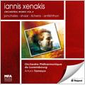 Xenakis: Orchestral Works Vol.2 -Jonchaies, Shaar, Lichens, Antikhthon / Arturo Tamayo(cond), Orchestre Philharmonique de Luxembourg
