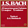 J.S.Bach: 2 Concertos for Pianos BWV.1062,1063 / Eric Heidsieck(p), Tania Heidsieck(p)