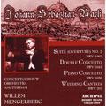 Bach : Orchestral Suite no 2, Concerto For 2 Violins, etc / Mengelberg, ACO