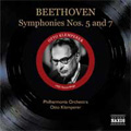 Beethoven:Symphonies No.5 Op.67 (10/6-7,12/17/1955)/No.7 Op.92 (10/5-6,12/17/1955):Otto Klemperer(cond)/Philharmonia Orchestra