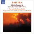 """Britten: Violin Concerto, Overture """"Canadian Carnival""""; Britten & Berkeley: Mont Juic -Suite Of Catalan Dances"""