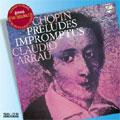Chopin: 24 Preludes Op.28, Prelude Op.45, Impromptus, etc