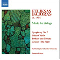 Bajoras: Symphony No.2, Suite of Verbs, Prelude and Toccata, The Sign / Donatas Kaktus(cond), St. Christopher Chamber Orchestra