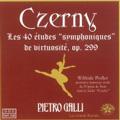 Czerny: 40 Etudes Op.299 / Pietro Galli