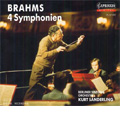 Brahms: Complete Symphonies; No.1-4, Alto Rhapsody, Haydn Variations  / Kurt Sanderling(cond), Berlin Symphony Orchestra, Berlin Radio Chorus, Annette Markert(A)