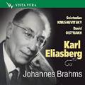 Karl Eliasberg Conducts Brahms :Symphony No.3 Op.90 (3/5/1951)/Concerto for Violin, Cello & Orchestra Op.102 (4/19/1948):USSR State SO/David Oistrakh(vn)/etc